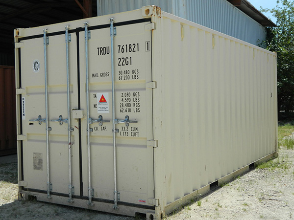 texas ground storage containers for rent
